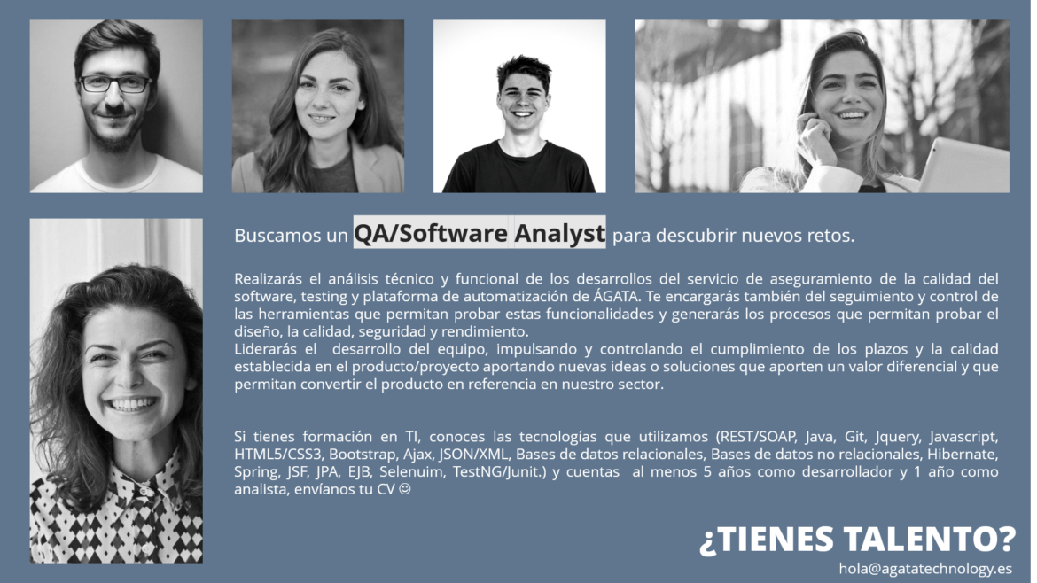 QA SOFTWARE ANALYST