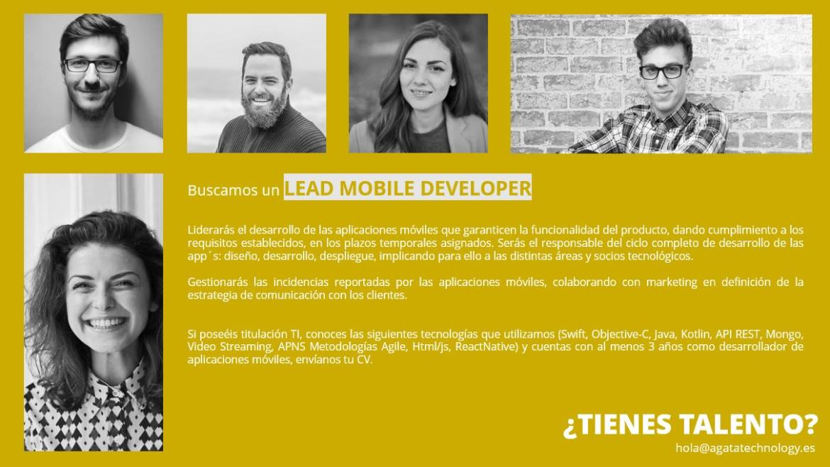 LEAD MOBILE DEVELOPER